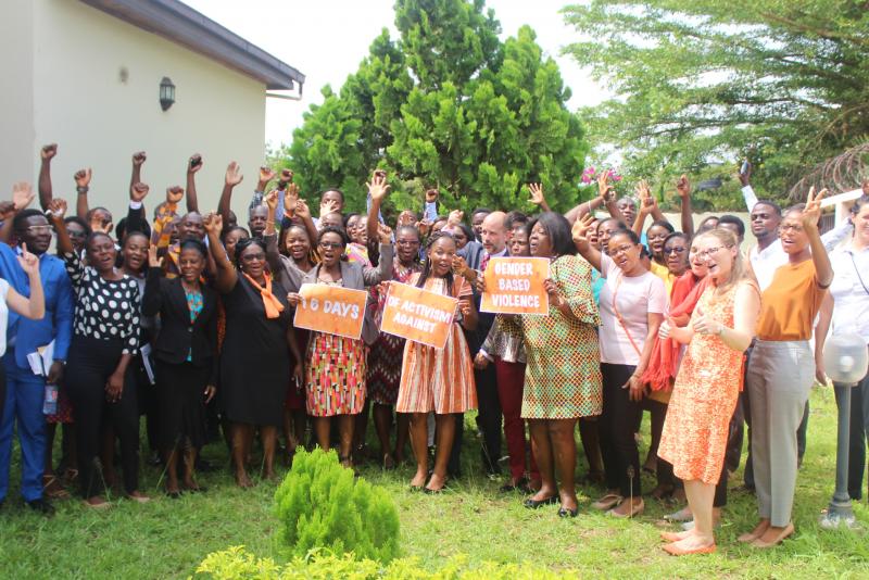 US Embassy's Gender-based Violence Workshop at Mobile Web Ghana